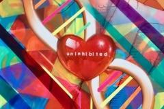 UNINHIBITED 2017 5FTX10FT SPRAY PAINT ON CANVAS ARTWORK BY CHOR BOOGIE