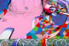 THE EYES OF BRAZIL 2009 10FT X 20 FT - ORIGINAL ARTWORK BY CHOR BOOGIE