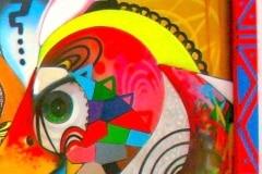 THE EYES OF DUBAI 2008 12FT X 12FT - ORIGINAL ARTWORK BY CHOR BOOGIE