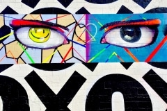 THE EYES OF LAS VEGAS 2015 25FT X 60FT - ORIGINAL ARTWORK BY CHOR BOOGIE