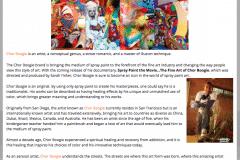 PEACE MAGAZINE 1 | CHOR BOOGIE ART