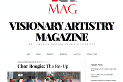 VISIONARY ARTIST MAGAZINE 1 | CHOR BOOGIE ART