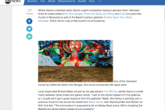 ABC NEWS MIAMI 1 | CHOR BOOGIE ART