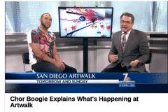 NBC 2 | CHOR BOOGIE ART