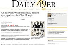 DAILY 49ER 1 | CHOR BOOGIE ART