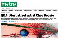 METRO NYC 1 | CHOR BOOGIE ART
