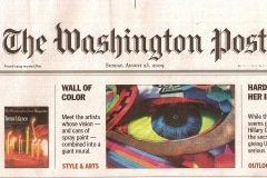 THE WASHINGTON POST FRONT PAGE 2 | CHOR BOOGIE ART