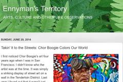 ENNYMANS TERRITORY 1 | CHOR BOOGIE ART