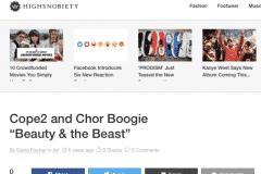 HIGHSNOBIETY 1 | CHOR BOOGIE ART