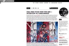 THE HUNDREDS 1 | CHOR BOOGIE ART