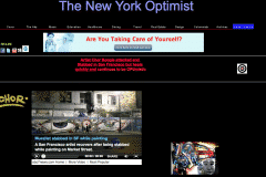 THE NEW YORK OPTIMIST 1 | CHOR BOOGIE ART