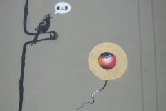 BANKSY BOOGIEBIRD 2011 |ORIGINAL ARTWORK BY CHORBOOGIE BANKSY