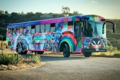 DR. BRONNER'S  BOOGIE BUBBLE BUS 2019-ORIGINAL ARTWORK BY CHOR BOOGIE