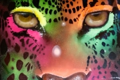 INTERGALACTIC CAT 2016 8FT X 8FT SAN DIEGO CA. - ORIGINAL ARTWORK BY CHOR BOOGIE