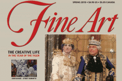 FINE ART MAGAZINE COVER | CHOR BOOGIE ART