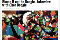 CLUTTER MAGAZINE 1 | CHOR BOOGIE ART