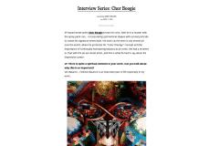 LIVE FAST MAGAZINE 1 | CHOR BOOGIE ART