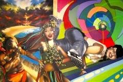 ISLANDS 2003 12FT X 20FT- ORIGINAL ARTWORK BY CHOR BOOGIE