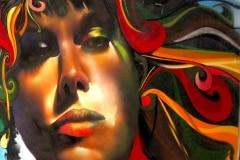 REDYELLOWGREEN 2006 8FT 10FT- ORIGINAL ARTWORK BY CHOR BOOGIE