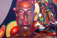 SELFLESS 2006 72X60- ORIGINAL ARTWORK BY CHOR BOOGIE