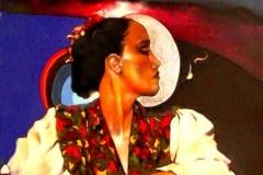 THE DANCER 2006 5FT X 10FT- ORIGINAL ARTWORK BY CHOR BOOGIE
