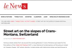 LE NEWS 1 | CHOR BOOGIE ART