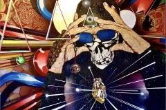 PHASE 2 TRUEMATHMATICS 2020- SPRAY PAINT ON CANVAS - ORIGINAL ARTWORK BY CHOR BOOGIE