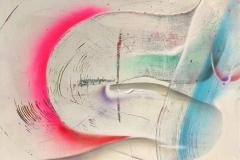 BEND 2020 30X40 SPRAY PAINT ON CANVAS ORIGINAL ARTWORK BY CHOR BOOGIE
