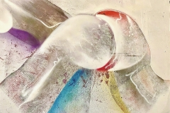 THE ARCH 2020 30X40 SPRAY PAINT ON CANVAS  ORIGINAL ARTWORK BY CHOR BOOGIE