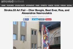 ARRESTED MOTION 2 | CHOR BOOGIE ART