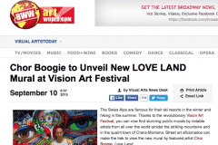 BROADWAY WORLD LOVE LAND 2 | CHOR BOOGIE ART