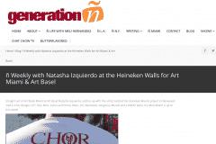 GENERATION N 1 | CHOR BOOGIE ART