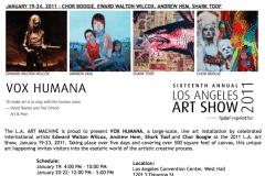 LA ART SHOW | CHOR BOOGIE ART