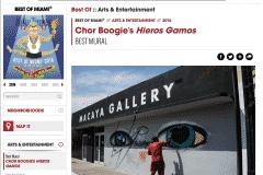 MIAMI NEW TIMES BEST MURAL 2016 | CHOR BOOGIE ART