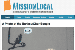 MISSION LOCAL 1 | CHOR BOOGIE ART