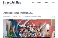 STREETARTHUB 1 | CHOR BOOGIE ART