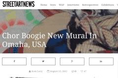 STREETART NEWS 2 | CHOR BOOGIE ART