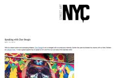 STREETART NYC 1 | CHOR BOOGIE ART