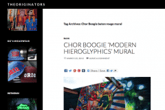 THE ORIGINATORS 1 | CHOR BOOGIE ART