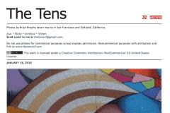 THE TENS | CHOR BOOGIE ART