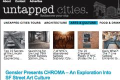 UN TAPPED CITIES 1 | CHOR BOOGIE ART