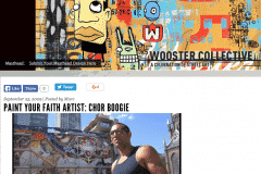 WOOSTER COLLECTIVE 2 | CHOR BOOGIE ART