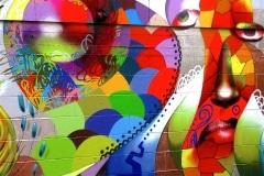 MODERN HIEROGLYPHICS- FLAT 2007 10FT X 12FT - SAN FRANCISCO CA.- ORIGINAL ARTWORK BY CHOR BOOGIE