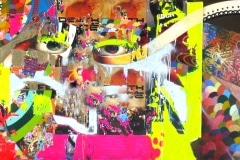 MODERN HIEROGLYPHICS- IS THIS ART 2007 8FT X 15FT SAN DIEGO CA.- ORIGINAL ARTWORK BY CHOR BOOGIE