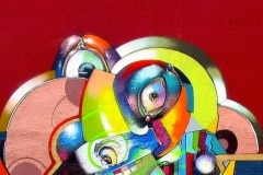 MODERN HIEROGLYPHICS- PARABLE 2006 10FT X 10FT -SAN DIEGO CA. - ORIGINAL ARTWORK BY CHOR BOOGIE