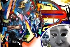 MODERN HIEROGLYPHICS-TIMELESS 2004 10FT X 10FT - SAN DIEGO CA. - ORIGINAL ARTWORK BY CHOR BOOGIE